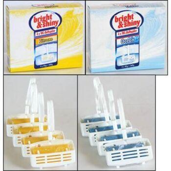 28-258419, WC-Duft-Einhänger 4er Pack, Dufthänger für Toilette