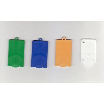 Einkaufswagenchips, farblich sortiert f Promotion Werbung