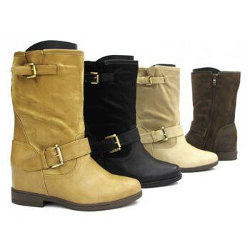 Damen Stiefeletten Stiefel Schuhe Gr. 36-41