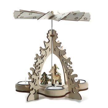 17-25543, Holz Weihnachtspyramide