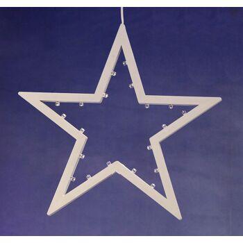 17-28673, LED Stern zum Hängen, 25 cm, Weihnachtsdeko
