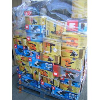 Sonderposten Elektrowerkzeug - Kundenrückläufer/Retouren Mix Ware Handwerkzeuge Elektro / Benzin Sägen, Generatoren, Bohrmaschinen usw.