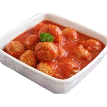 500g Fleischklößen in Tomatensauce ||| meatballs in tomato sauce 500g