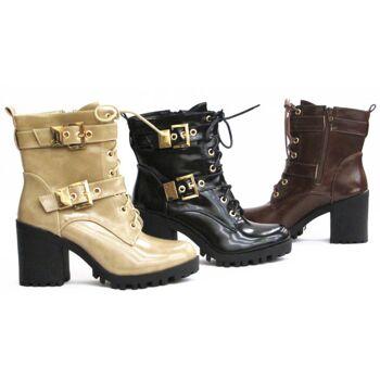Damen Stiefel Boots Schuhe Shoes Stiefeletten  nur  17,49 EUR