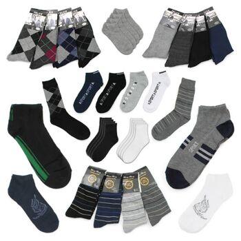 Herren Socken Strümpfe Füßlinge Mix Gr. 39-46