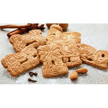Spekulatius für den Export | Speculaas for export