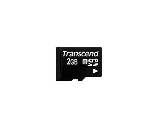 Transcend microSD 2GB Speicherkarte original - keine cutted Dies Abfälle aus größeren Karten!