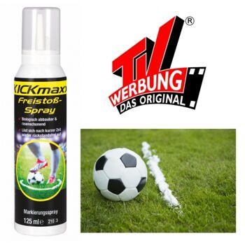 10-802101, Freistoßspray, Für Sportevents, Schiedsrichterzubehör, Fanbedarf, usw. aus TV bekannt