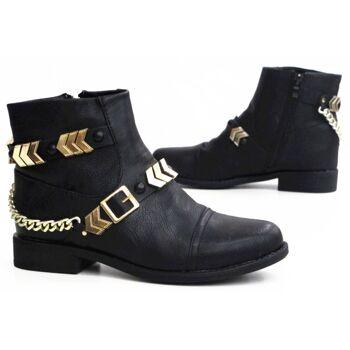 Damen Stiefel Boots Schuhe Shoes Stiefeletten  nur  19,99 EUR