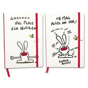 27-43760, NIC - Notizbuch A5, für Notizen, Hausaufgaben, als Freundebuch, usw -