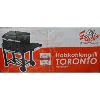 Holzkohlengrill Toronto mit Trolley