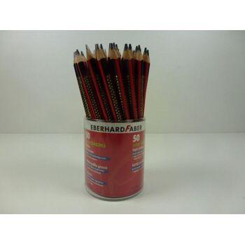 12-107611 Faber Tikki Dicki Bleistifte, Dick, ergonomisch dreiflächig