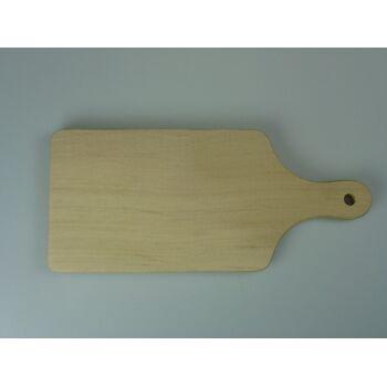 12-01244, stabiles, dickes Holz Schneidbrett, Fleischbrett, Küchenbrett, Schneidebrett, Frühstücksbrettchen