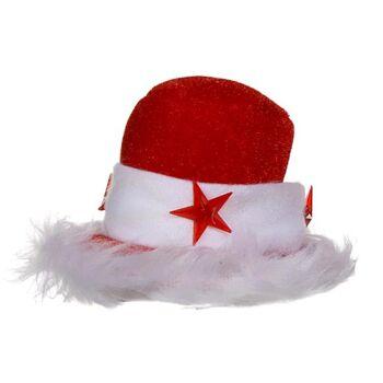 17-41961, Weihnachtshut mit 3 blinkende LED, Party, Event, Weihnachtsfeier, Weihnachtsmarkt