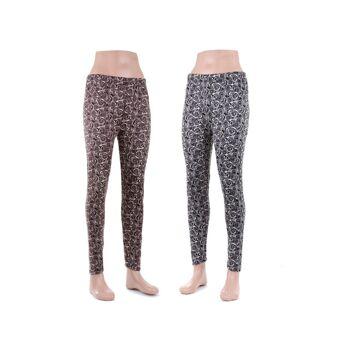 Modische Damen Thermo Leggings Leggins in versch. Farben nur  4,29 EUR