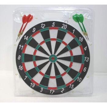27-46062, Dartspiel mit 4 Pfeilen, Dartscheibe 30 cm++++++