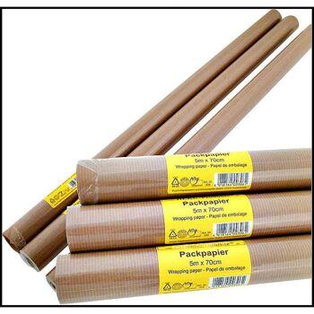 28-260006, Packpapier 500 x 70 cm, Versandpapier, Geschenkpapier+++++++