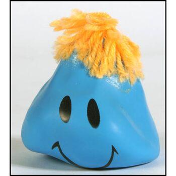 28-350862, Anti Stressball mit Gesicht, 6 cm, Knetball