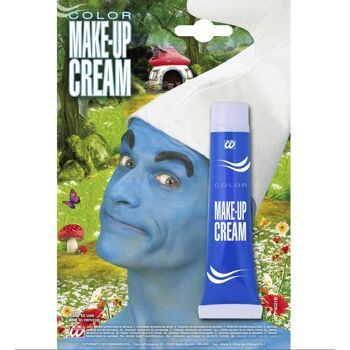 27-52256, Make-up in Tube blau 28ml, Party, Event, Karneval, Fasching, usw
