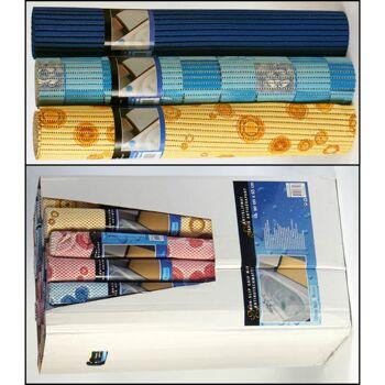 28-877198, Badmatten 65 x 90cm, wasserabweisend, dekorativ, anti-bakteriell, geschäumte Ware