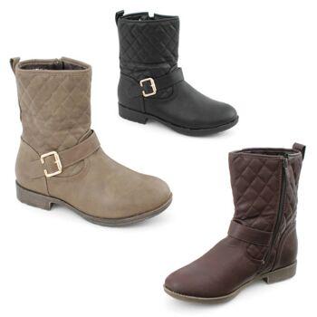 Damen Herbst Winter Stiefel Schuhe Boots