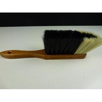12-026011, Holz Handfeger mit Rosshaarmischung, Reinigungsbesen