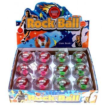 10-549500, Basketball Spiel in Kugel mit LED Licht und Sound, Geschicklichkeitsspiel