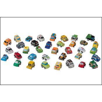 28-538167, Spielzeugauto Pull-Back-Motor, Rennwagen, Rennauto, mit Antrieb