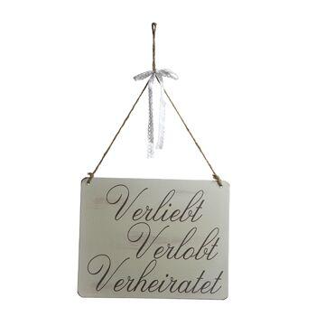 17-50618, Holz Schild