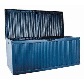 Restposten Discounter Baumarkt Gartenkissenbox 350 Liter Aufbewahrungsbox aus Kunststoff