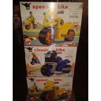 Sonderposten Restposten Spielzeug Motorrad BIG Aldi Lidel Discounter