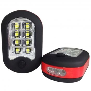 10-984800, LED Taschenlampe und Arbeitslampe