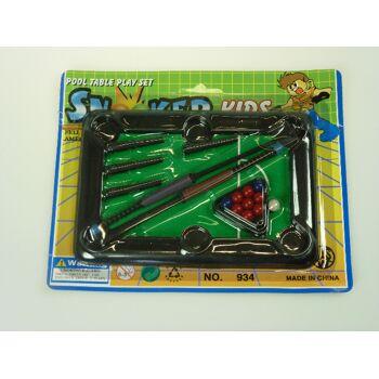 Billard Tisch mit Zubehör, Snooker Spiel, Billardspiel