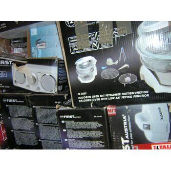 Restposten Discounter Lidl Aldi MIX Paletten elektr. Geräte Haushalt/ Multimedia Staubsauger Halogenoffen ESPRESSO Maschinen
