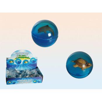 12-601056, Flummi Meerestiere, 4,5 cm, Springball, Flummiball