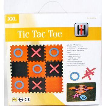 28-661369, Puzzlematte Tic Tac Toe 19-teilig, wasserfest, Haus, Garten, Camping, Freizeit, Strand, usw
