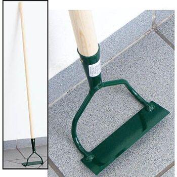 28-303730, Hacke zweiarmig, mit Holzstiel, Gartenwerkzeug