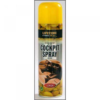 28-392271, Silikon Cockpitspray Lemon, 225 ml