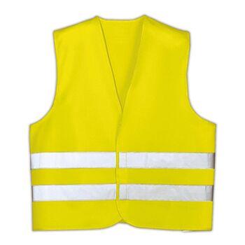 12-90396, Sicherheits Warnweste, nach DIN EN 471, mit Reflektorstreifen