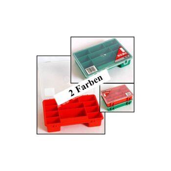 28-991761, Sortierkasten 1-11, 240x165x55 mm mit Deckel, Werkzeugkasten, Kleinwaren, Schrauben, HAus, Hobby, Werkstatt, usw