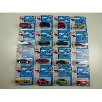 Maisto Metall Modellautos 6 cm, Audi, Mercedes, Hummer, Volkswagen, Lamborghini, Porsche, Mini Cooper, usw