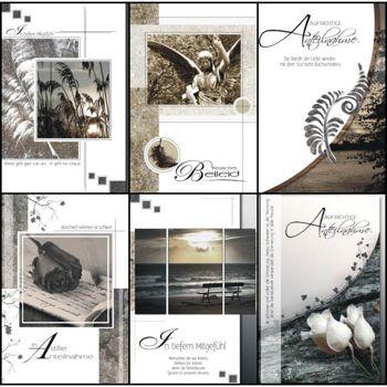 28-813140, Karten Trauer, Geschenkkarten, Trauerkarten