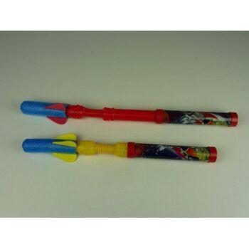 10-550723, Schaumstoff-Raketen Abschießer, ideal für Haus, Garten, Strand, Campingplatz, usw