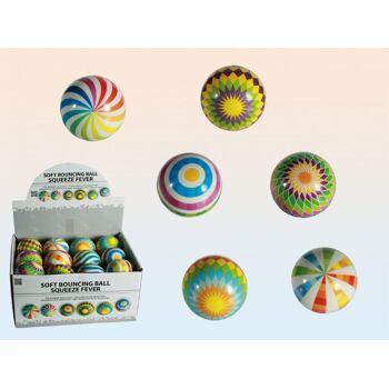 12-120958, Soft-Springball, Squeeze Fever, Flummi, Wasserball, Spielball, Haus, Garten, Strand, usw