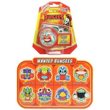 27-45141, Bungees Flick-to-stick, Bungee-Figur, Bungee-Karte, Sammeln, Tauschen, Spielen