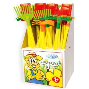 12-15002053, Kinder Gartenwerkzeuge 60-72 cm, Sandspielzeug, Sandkasten, Strandspielzeug