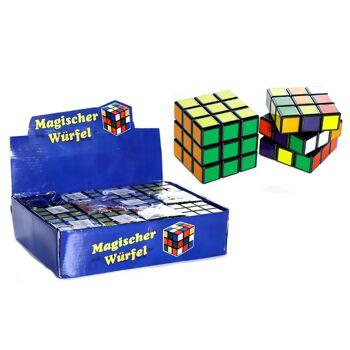 17-90387, Magischer Würfel, Drehwürfel, Knobelspiel, Geduldspiel, Geduldsspiel