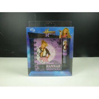 12-224914, Hannah Montana, Kugelschreiber mit Notizblock
