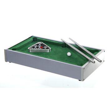 17-29961, Metall - Holz Tisch Billiard