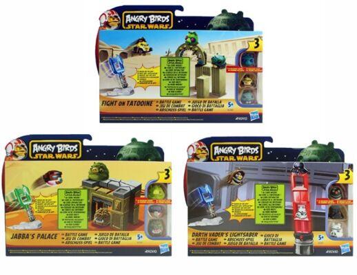 27-48761, Hasbro Star Wars, Angry Birds Strike, Abschußspiel